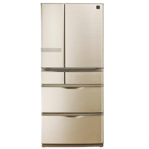 SHARP 夏普 601L 六門環保冰箱 SJ-XF60AT-T《日本原裝、奈米低溫脫臭、一級節能》