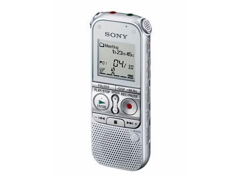 展機出清 ! SONY ICD-AX412F 多功能2GB數位錄音筆 錄音/音樂播放/FM,功能多合一 前置喇叭設計