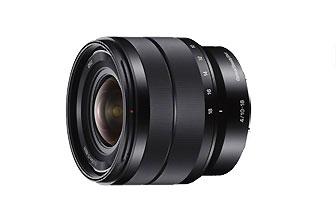 SONY SEL1018 10-18 超廣角變焦鏡頭,最大光圈 F4 最小焦距為 10mm (同等 35mm 全片幅 15mm)