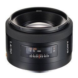 SONY SAL-50F14 數位單眼相機鏡頭 50mm F1.4 大口徑標準鏡頭