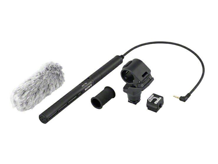 SONY ECM-CG50 高感度指向性麥克風 隨附避震麥克風座