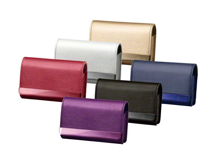 SONY LCS-TWK 細緻經典壓紋設計數位相機包 磁扣設計美觀便利兼具,方便開關拿取 - 限時優惠好康折扣