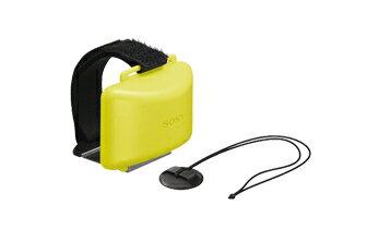 Sony 夾式浮標 AKA-FL2 此配件能使在水中的機器保持漂浮的狀態 使用固定繩可穩固連接防水盒至衝浪板上