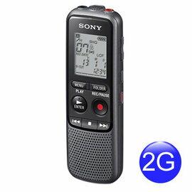 展機出清! SONY ICD-PX232 錄音筆 2GB 內建 2GB 容量 可錄製約 536 小時 (LP 模式) ICD-PX232M