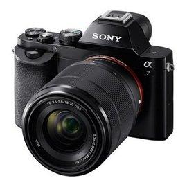 ★贈電池(共2顆)+32G高速卡+座充+吹球清潔組+保護貼 SONY A7K 單眼相機(公司貨) ILCE-7K 單鏡組 ILCE7K ILCE7