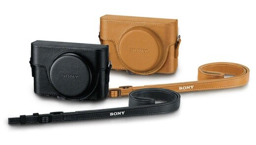 SONY RX100系列專屬皮套(黑 / 咖啡) LCJ-RXF ★適用於 DSC-RX100  /  RX100II  /  RX100III RX100M2 RX100M3 0