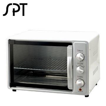 尚朋堂30公升旋風烤箱 SO-1166 上火、下火、全火三段控制 時間開關:0-60分鐘 溫度範圍:70-250度C