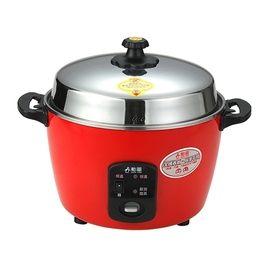 勳風 11人份 養生不銹鋼電鍋-紅 HF-8867 一鍋多用途-煮飯/燉補/滷/蒸