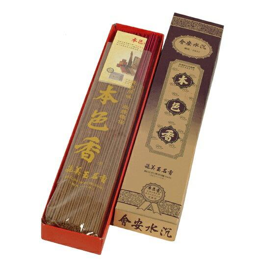 施美玉本色香系列 會安水沉 立香 1尺3 NO:6833 (1盒裝)