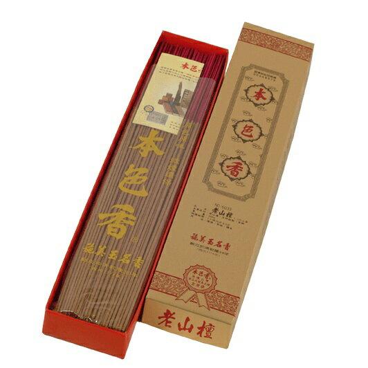 施美玉本色香系列 老山檀 立香1尺3 NO:6033(6盒裝)