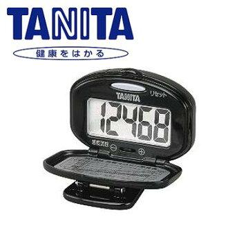 TANITA 標準型計步器 PD635 (黑色) ★大字幕顯示,閱讀清晰容易