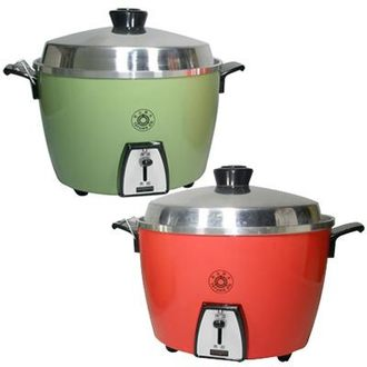 大同 10人份 電鍋 (鋁製內鍋) TAC-10A-R / G ★紅綠兩色,電壓110V
