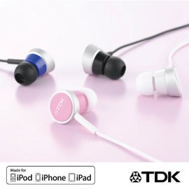 TDK TH-ECSP300 CLEF- iSMART 耳道式立體聲高質感耳機 密閉式設計 遮音性高 有效防止漏音