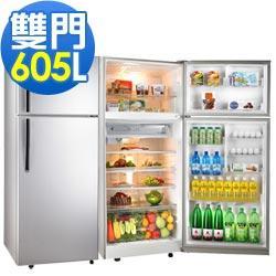 TECO 東元 605公升 雙門冰箱 R6110K