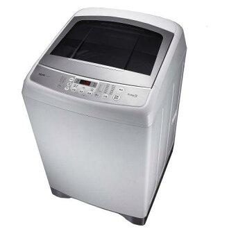 TECO 東元 13KG 變頻洗衣機 W1391XW / 低機台設計 / 變頻馬達 / 夜間靜音