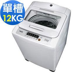 <br/><br/>  TECO東元 W1209UN 12公斤 單槽超音波洗衣機  FUZZY人工智慧安全自動洗衣<br/><br/>