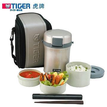 TIGER 虎牌 不鏽鋼保溫飯盒 LWU-B170 內容器可微波使用 扣環式上蓋