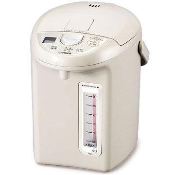 TIGER 虎牌 4.0公升輕巧型液晶顯示熱水瓶 PDN-A40R 定時、定溫皆具省電功能
