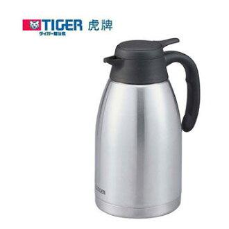 TIGER 虎牌 不鏽鋼真空保溫熱水瓶1.6L PWL-A162 把手部輕鬆按壓式給水開關