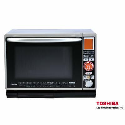 TOSHIBA 東芝 30公升 過熱水蒸氣烘烤微波爐 ER-H8GN ★熱風包圍住食物,完整鎖住美味