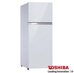 TOSHIBA 東芝 409L雙門變頻玻璃鏡面冰箱 GR-TG46TDZ ◆時尚玻璃鏡面設計