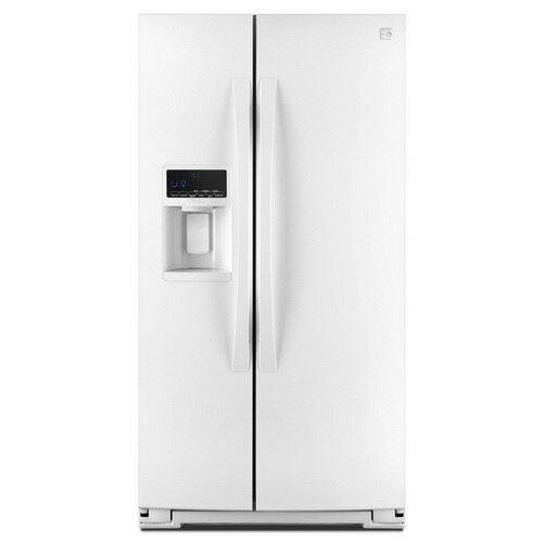 【滿額結帳折$200】Sears 美國熙爾仕楷模 ~ 菁英型 金冠對開門製冰冰箱(亮白色)【型號:51172】 0