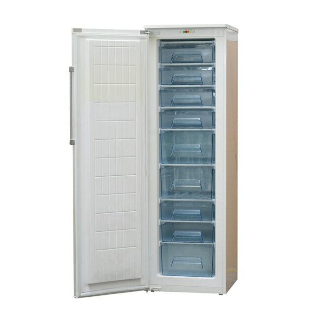 Warrior 5尺9 直立單門 冷凍櫃 228L TF-29 白色外觀簡潔大方 超大容量儲物抽屜;人性化設計,易於拿取分類