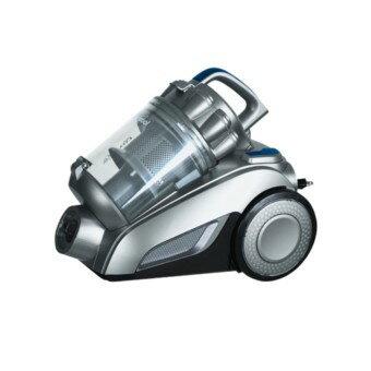 Whirlpool 惠而浦 多重氣旋式吸塵器 VCK4007  多重氣旋集塵設計 吸力維持不減弱 3D靜電軟毛滾刷,吸塵同時擦地