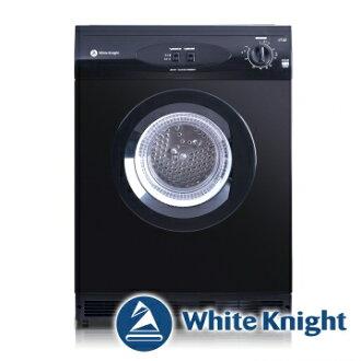 White Knight 600AB 6kg 滾筒式乾衣機 黑色◆含到府基本安裝◆英國原裝進口