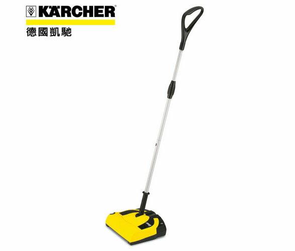 德國 凱馳 KARCHER K55 直立式電動掃地機 ★替換電池方式,清掃沒有電線牽絆