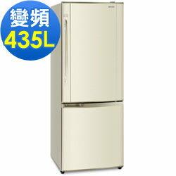 Panasonic 國際牌 435公升變頻雙門冰箱 NR-B435HV-N1 琥珀金