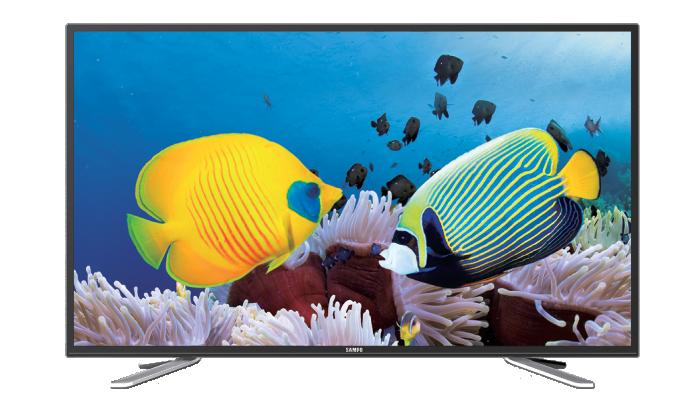 SAMPO 聲寶 55吋 4K3D LED液晶顯示器 EM-55UT15D/Smart智慧雲端/解析度3840x2160/120Hz倍數動態
