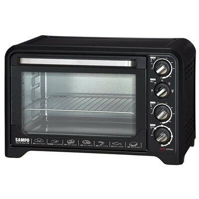 SAMPO 聲寶 35L 雙溫控油切旋風烤箱 KZ-PA35C / 單獨發酵功能 / 60分鐘定時 / 旋風熱對流烘烤 - 限時優惠好康折扣