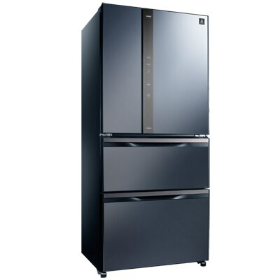 SAMPO 聲寶 560公升 四門 變頻 冰箱 SR-NW56DD/SRNW56DD/觸控面板/AIE智慧節能/一體發泡
