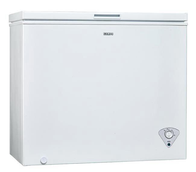 SAMPO 聲寶 200公升 上掀式 冷凍櫃 SRF-201/SRF201/活動式腳輪/一體發泡/