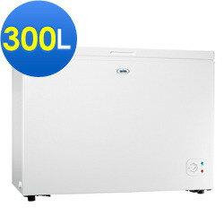 SAMPO 聲寶 300L臥式冰櫃 SRF-300 上掀式冷凍櫃、活動式腳輪