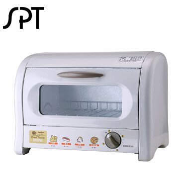 尚朋堂 8公升小烤箱 IT-300 可開式集屑盤設計 15分鐘定時設計 低耗能 節能省電  贈烤盤 清洗容易 可開式集屑盤設計