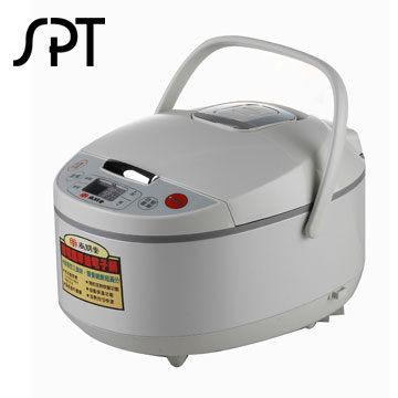 尚朋堂 10人份微電腦厚釜電子鍋 SC-LE181K 蜂巢式內鍋,加熱均勻快速