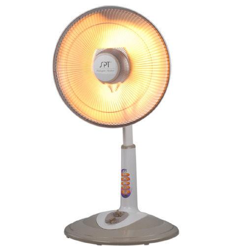 尚朋堂 40CM 定時 直立 鹵素 電暖器 (灰白色) SH-8855T