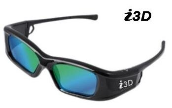 Vivitek i3D 投影機用多頻3D眼鏡-USB充電式 ( IL770B ) iL770