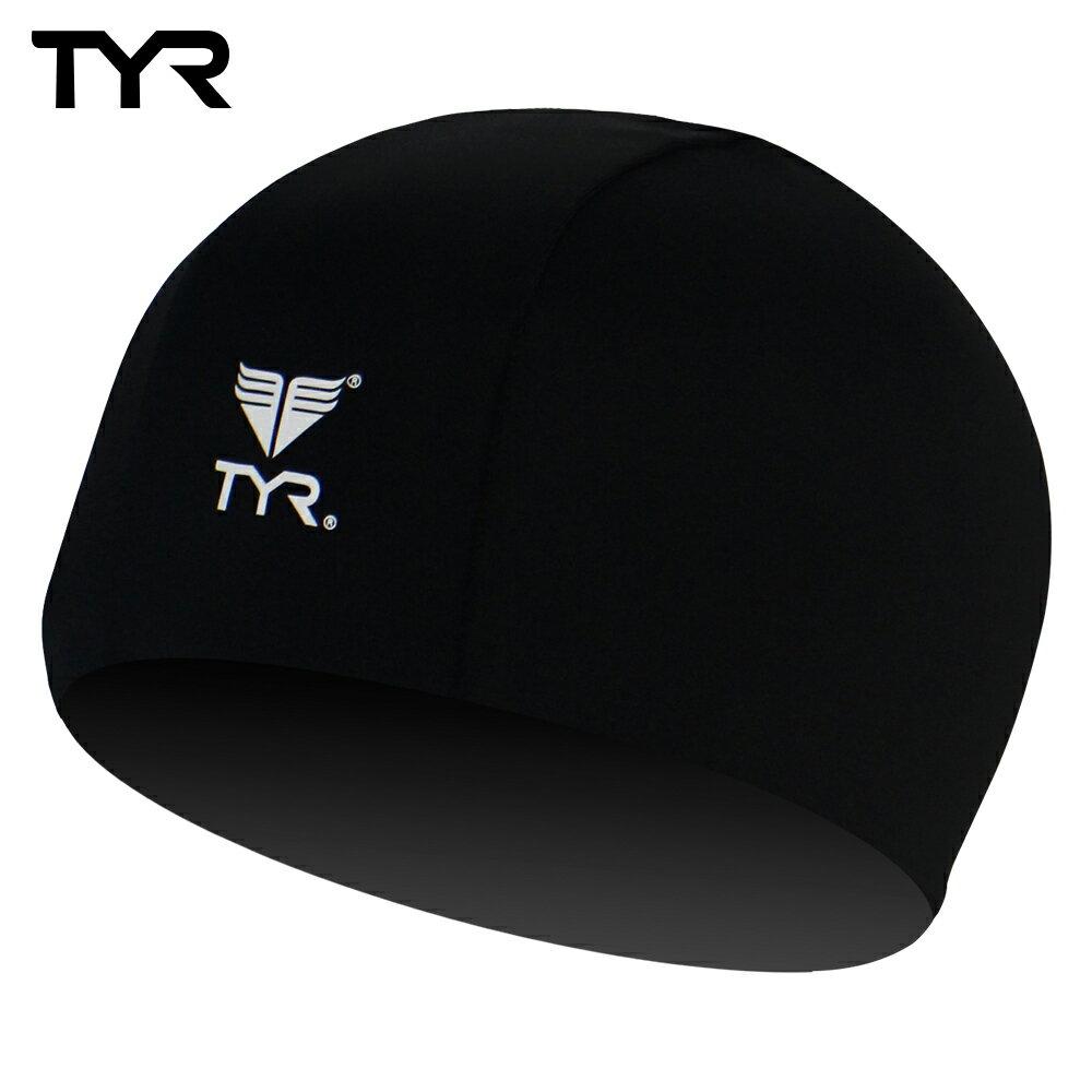 美國TYR 成人萊卡泳帽 Lycra Swim Cap Black台灣總代理 - 限時優惠好康折扣