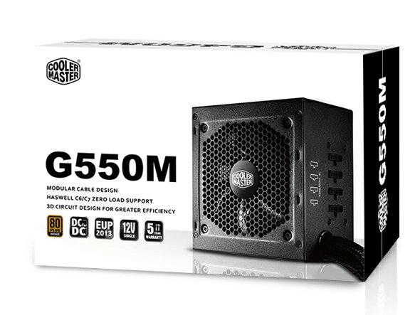 【迪特軍3C】COOLMASTERGM系列G550M電源供應器PC電源供應器POWER