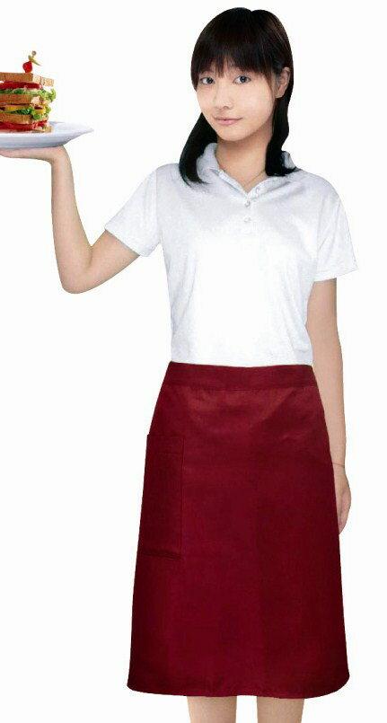 防水半身圍裙-短