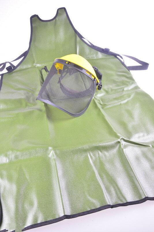 除草機/割草機專用防護面罩+割草機用工作衣
