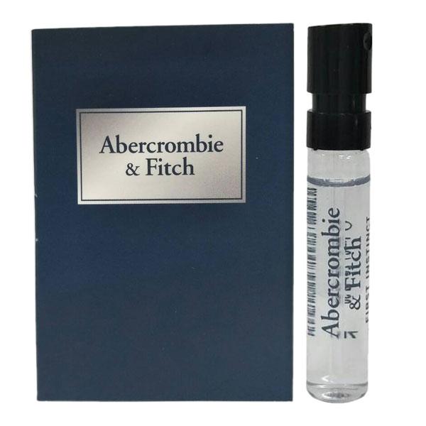 ABERCROMBIE & FITCH A&F 湛藍男性淡香水 2ml 針管 (67057)《Belle倍莉小舖》
