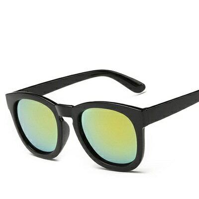 ☆太陽眼鏡偏光墨鏡-透明炫彩時尚圓框男女眼鏡配件11色73en117【獨家進口】【米蘭精品】 2