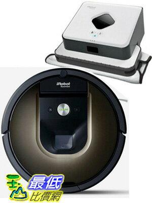 iRobot Roomba 980 掃地機器人吸塵器 和 Braava 375t 抹地機套餐 贈濾網6片+邊刷3支+清潔刷防撞條