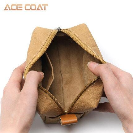數碼收納包 ACECOAT數碼配件收納包數據線耳機雜物包多功能移動硬碟保護套布袋筆記本電源線滑鼠外設便攜包充電寶保護套『MY1922』