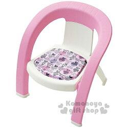 〔小禮堂嬰幼館〕迪士尼 米妮 日製兒童椅《粉白.手繪風.點點.站姿》衛浴專用