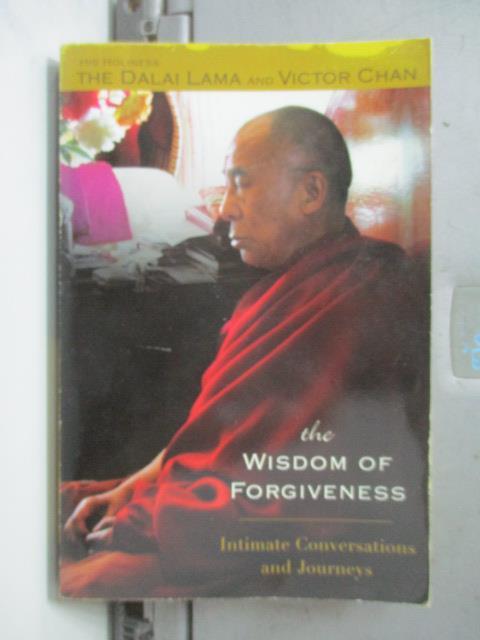 【書寶二手書T1/原文書_NSW】The Wisdom Of Forgiveness_Dalai